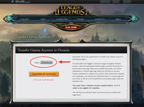 Confirm your ownership of the account by logging into the Garena account.
