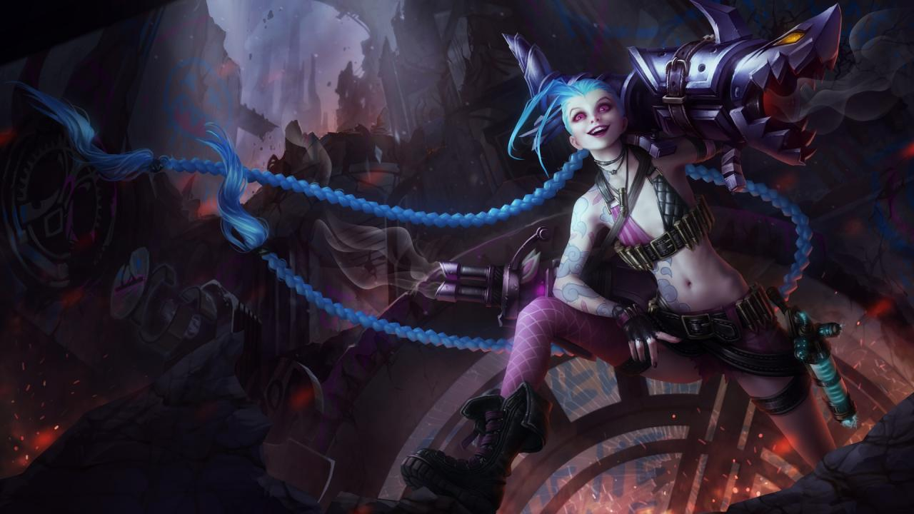 Image result for lol jinx
