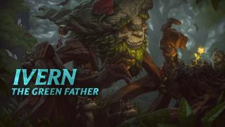Ivern Champion Spotlight | Gameplay- League of Legends